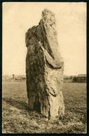 22134 FRANCE  CPA Péronne : Le Menhir De Doingt Ou Pierre De Gargantua  1930  B/TB - Peronne