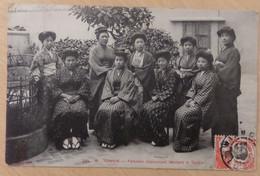 Indochine/Tonkin Belle Carte Postale De 1910. B/TB. A Saisir! - Storia Postale