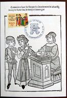 Carte Maximum 1978 Imprimerie Genève Maxikarte Card Suisse Maxicard - Cartes-Maximum (CM)