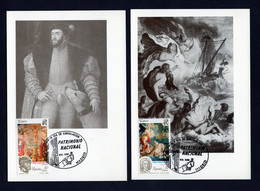 Spain/Espagne 1990 - Maxicards - National Cultural Heritage - Excellent Quality - 1981-90 Lettres