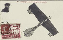 HUBERT LATHAM VOL SUR MONOPLAN ANTOINETTE 1909 TBE - Aviateurs