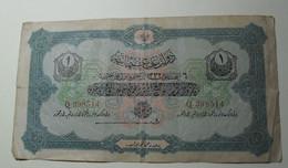 1913 - Turquie - Empire Ottoman - 1332 - 1 LIVRE TURQUE - Q 398514 - Turquie