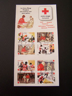 CARNET CROIX ROUGE   BC 1270   OBLITERE CACHET ROND - Red Cross