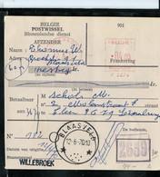 Mandat De Poste - Obl. BLAASVELD 12/06/70 - Postmarks With Stars