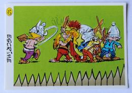 Vache Qui Rit Image Sticker Asterix Et Ses Amis Préparant Les Jeux Olympiques Escrime 1991 Goscinnny Uderzo - Other