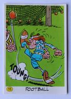 Vache Qui Rit Image Sticker Asterix Et Ses Amis Préparant Les Jeux Olympiques Football 1991 Goscinnny Uderzo - Other