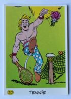 Vache Qui Rit Image Sticker Asterix Et Ses Amis Préparant Les Jeux Olympiques Tennis 1991 Goscinnny Uderzo - Other