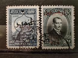 TURQUIE - 1928 N° 735-737 O (voir Scan) - Usati