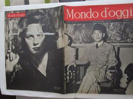 #  MONDO D'OGGI N 1 - 1945 SOEK ARNO /  SCIUSCIA' / LITTLE ITALY / ALIDA VALLI - Prime Edizioni
