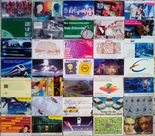 263 Telefonkarten, Davon Ca. 1/3 Deutschland, Rest Europäische Ländern, Siehe Scan, Ab Den Achtziger Jahren , Alle Leer, - Collezioni