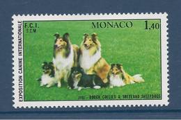 ⭐ Monaco - YT N° 1280 - Neuf Sans Charnière - 1981 ⭐ - Unused Stamps