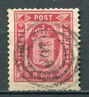 Dänemark Dienst Nr.6 Y A         O  Used        (703) - Dienstzegels