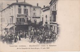 LA LOUVESC Manifestation 17 Juin 1903 - La Louvesc