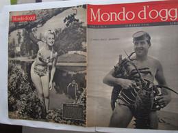 #  MONDO D'OGGI N 6 - 1946 GIAPPONE DOPO LA GUERRA / COPPI / DIANA MUMBY - Prime Edizioni