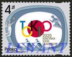 2021.07.15. The Game Of The XXXII Olympic Games TOKYO 2020 - Volleyball, Athletics And Rowing - MNH - Neufs