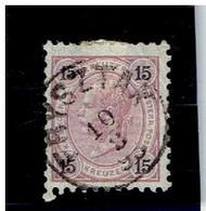 AUTRICHE EMPIRE ( Y&T) 1890-96 - N°52 *    15k  (obli FRYSZTAK) - Gebruikt