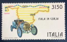 1989 - Italia - Itala In Corsa - Lire  3150  - A1 - 1981-90: Mint/hinged