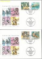Germany, Federal Republic 1992 Mi 1592-1595 FDC  (FDC ZE5 GRM1592-1595) - Verano 1992: Barcelona