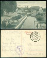 Deutsches Reich 1918 Feldpostkarte An Der Maas - Occupation 1914-18