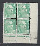 CD 807  FRANCE 1948 COIN DATE 807 : 24 9 48   MARIANNE DE GANDON - 1940-1949