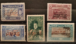 TURQUIE - 1919 N° 582 - 584/585 - 588 - 593 Tous Neufs * (voir Scan) - Ongebruikt
