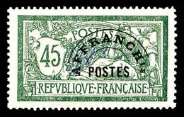 N°44 ** 45c Merson, Très Bon Centrage. TTB - 1893-1947