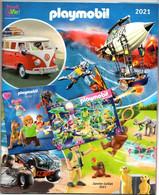 Catalogue Playmobil 2021 Avec Au Centre Le Catalogue D'articles Plus, + Un Mini Catalogue 2020 Et Un Depliant - Playmobil