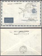 Poland 1959 – First Flight Warsaw - Amsterdam - Airplanes