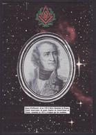 CPM Francs Maçons De L'Empire Tirage 5 Exemplaires Numérotés Signés Par JIHEL BRUNE Brive - History