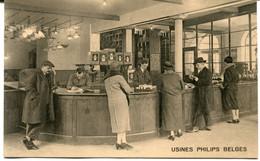 CPA - Carte Postale - Belgique - Lessines - Usines Philips Belges - Un Coin Des Magasins De Vente (MO17614) - Lessines