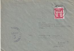 ALLEMAGNE 1945 LETTRE DE AUE - Covers & Documents