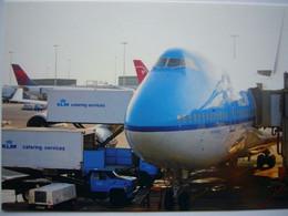 Avion / Airplane / KLM / Boeing B 747 / Seen At Schiphol Airport / Amsterdam - 1946-....: Modern Era