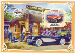 République Gabonaise 2019  -  Chevrolet Corvette   -   1v Feuillet Sheet Mint/Neuf/MNH - Autos