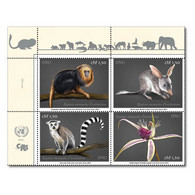 ONU Genève 2021 - CITES - Espèces En Danger Endangered Species Gefährdete Arten ** - Blocchi & Foglietti
