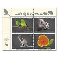 ONU Vienne 2021 - CITES - Espèces En Danger Endangered Species Gefährdete Arten ** - Blocchi & Foglietti