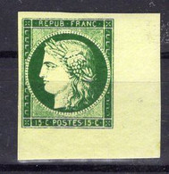 N°2 Neuf**, Faux De SPIRO - 1849-1850 Ceres