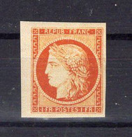 N°7 Neuf**, Faux De SPIRO - 1849-1850 Ceres