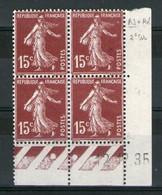 CD N°189b**_Type II_12/12/35_Bon Centrage_petite Adhérence Sur Marge - 1930-1939
