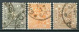 Würtemberg Nr.237/9           O  Used                 (294) - Wurttemberg