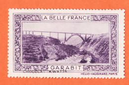 VaU175 ♥️ Viaduc GARABIT 15-Cantal Pub Chocolat KWATTA Vignette Collection LA BELLE FRANCE HELIO-VAUGIRARD Erinnophilie - Tourisme (Vignettes)