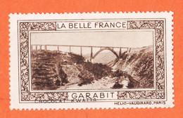VaU176 ♥️ Viaduc GARABIT 15-Cantal Pub Chocolat KWATTA Vignette Collection LA BELLE FRANCE HELIO-VAUGIRARD Erinnophilie - Tourisme (Vignettes)