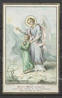 Image Pieuse Saint Ange Gardien  Bouasse Lebel Paris.... - Devotieprenten