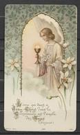 Image Pieuse L'âme Qui Vient à Jésus-Christ....ange...  Bouasse Lebel Paris....1922 - Devotieprenten