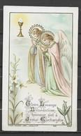 Image Pieuse Gloire Louange.... Anges Bouasse Lebel Lecène N° 1481 Paris.... - Devotieprenten