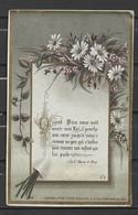 Image Pieuse Quand Dieu Nous Voit..... Bouasse Jeune N° 3655 Paris.... - Devotieprenten