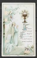 Image Pieuse L'Amour Seul Retient.....ange   Bouasse Jeune N° 3876 Paris.... - Devotieprenten