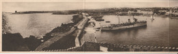 Panoramic Views 4 Fold - Grèce Rhodes / Rodi Nel 1934 - Grèce