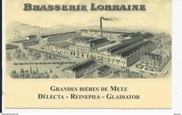 Brasserie  Biére  DELECTA  REINEPILS GLADIATOR BRASSERIE DE  LORRAINE - Vari