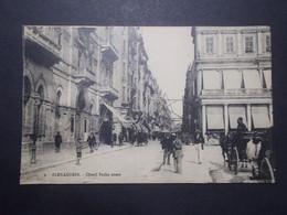 Carte Postale - Egypte - Alexandrie Cherif Pacha Street (4004) - Alejandría