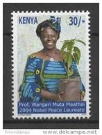 Kenya (2012) - Set -  /  Nobel Prize - Peace - Wangari Muta Maathai - Premio Nobel
